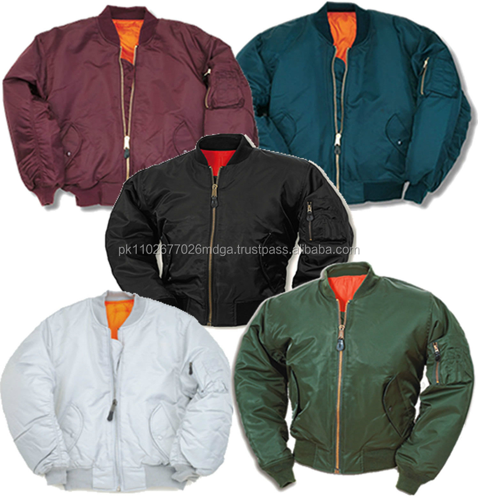 Wholesale Nylon Bomber Jackets / Nylon Flight Jackets / Military ...