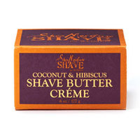 Shave Coconut & Hibiscus Shave Butter CrFme for Women, 6 OZ by Shea Moisture