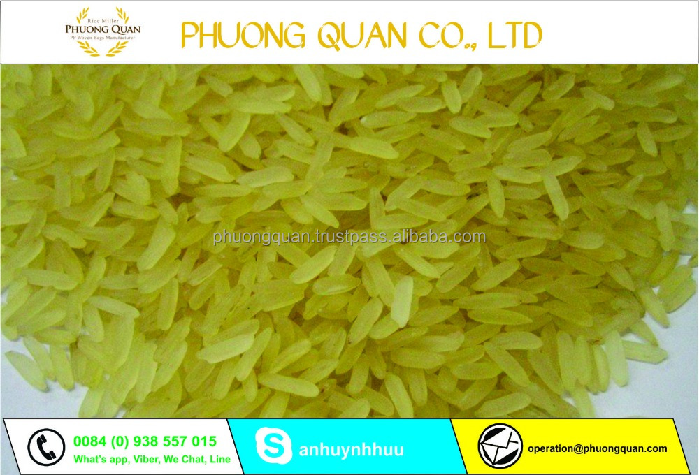 High quality Parboiled rice 5% broken rice for all importer