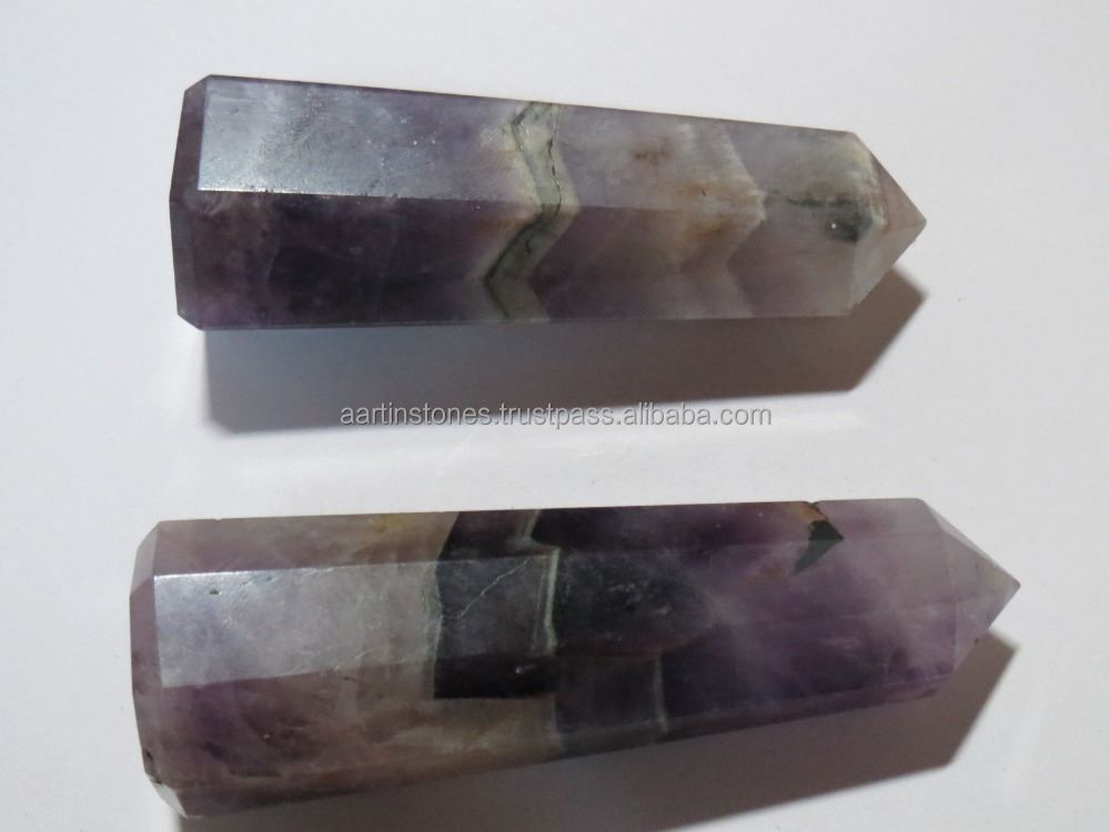 Amethyst massage wands reiki healing sticks obelisks tower
