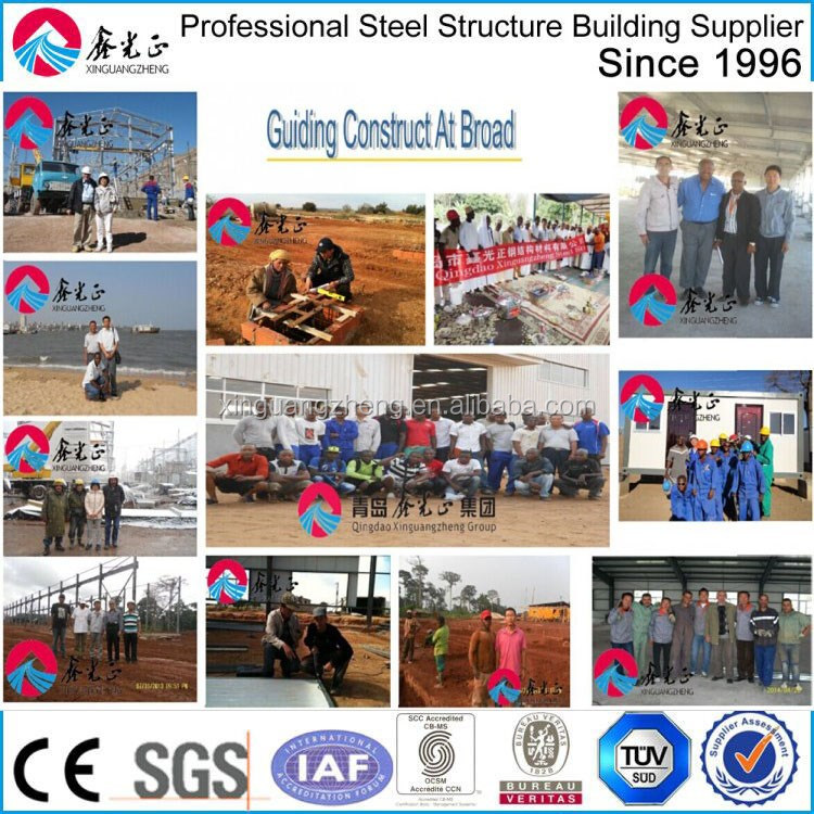 prefabricated steel structure tanzania warehouse