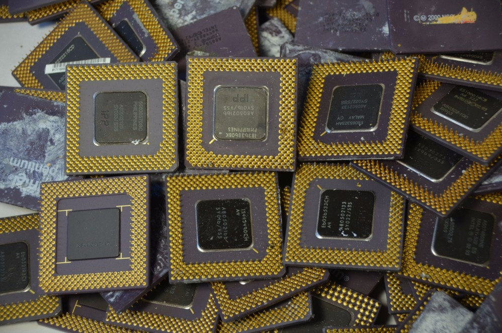 Ceramic Computer CPU Scrap Available