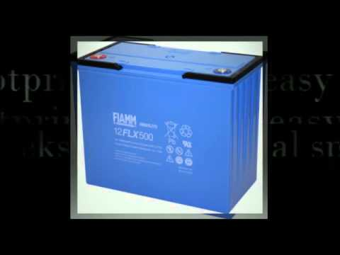 FIAMM 12 FLX 400 12V 100Ah VRLA Battery