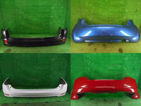 USED REAR BUMPER FOR HONDA CITY AND FOR TOYOTA, NISSAN, HONDA, MITSUBISHI, SUZUKI, MAZDA ETC.
