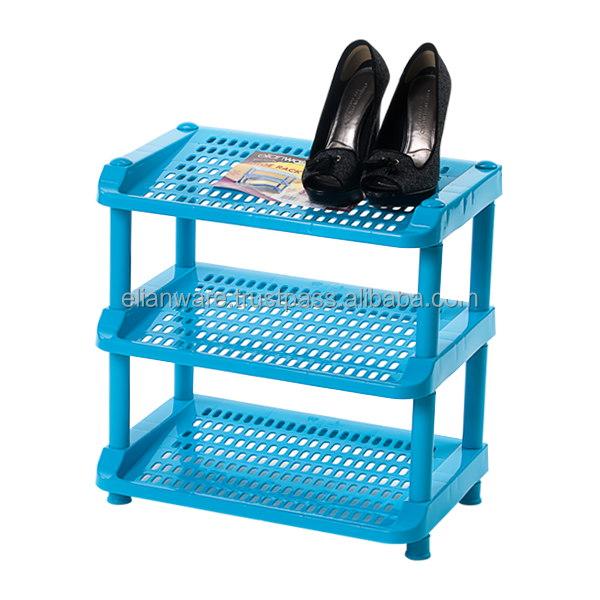 3 Tier Plastic Cheap Shoe Rack E-146/3