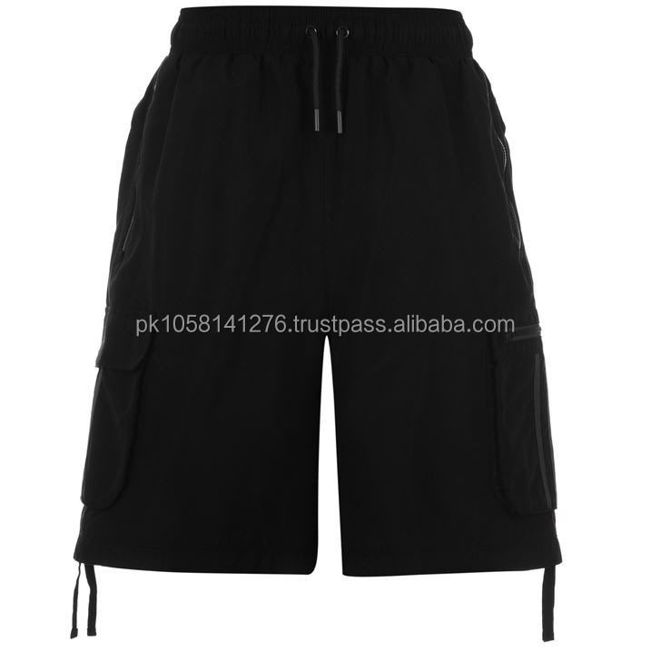 two pockets cargo shorts,black & charcoal clour short, hot & cool summer wear short