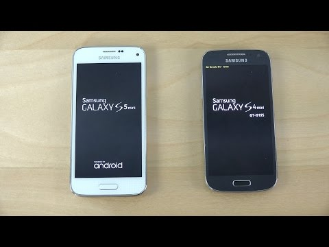 Samsung Galaxy S5 Mini Android 5.0.2 vs. Samsung Galaxy S4 Mini Android 5.0.2 - Which Is Faster?