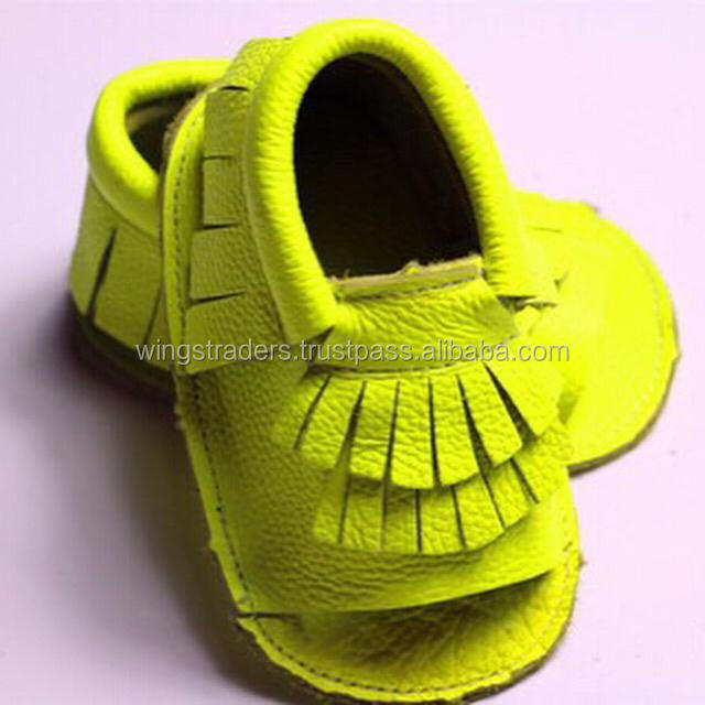 High Quality Wholesale Genuine Leather Baby Shoes With Good Price