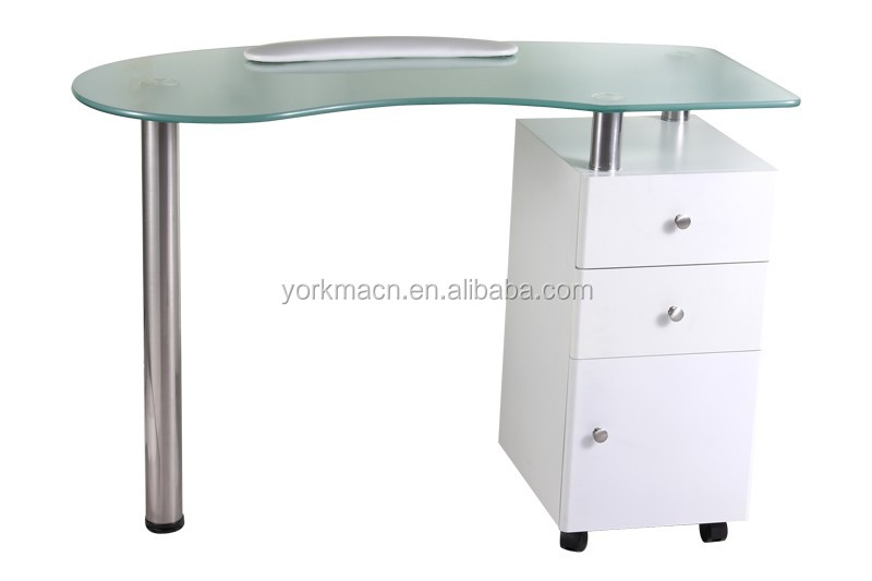 cheap nail table manicure glass tables nail bar tables glass top manicure tables buy glass. Black Bedroom Furniture Sets. Home Design Ideas