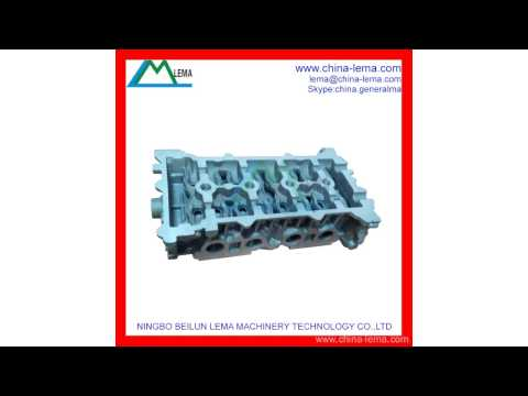 China Aluminum A356 Gravity Casting Part, Permanent Mould Casting supplier