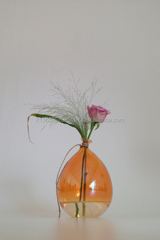 "Hand-Blown Glass Vase, Balloon, HandMade in Italy, , ""IPalloncini"" collection"