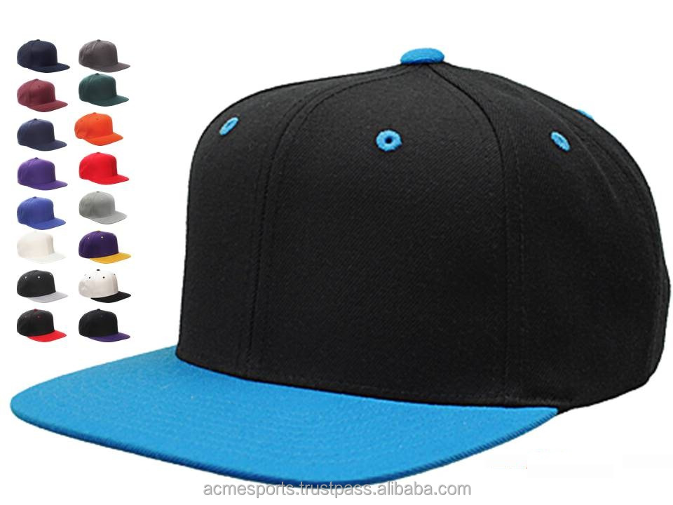 Snapback Caps - new fashion design flat brim snapback caps in deferent color