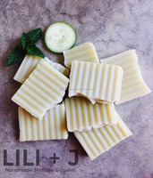 Cucumber and Mint Body Soap - Made in Australia