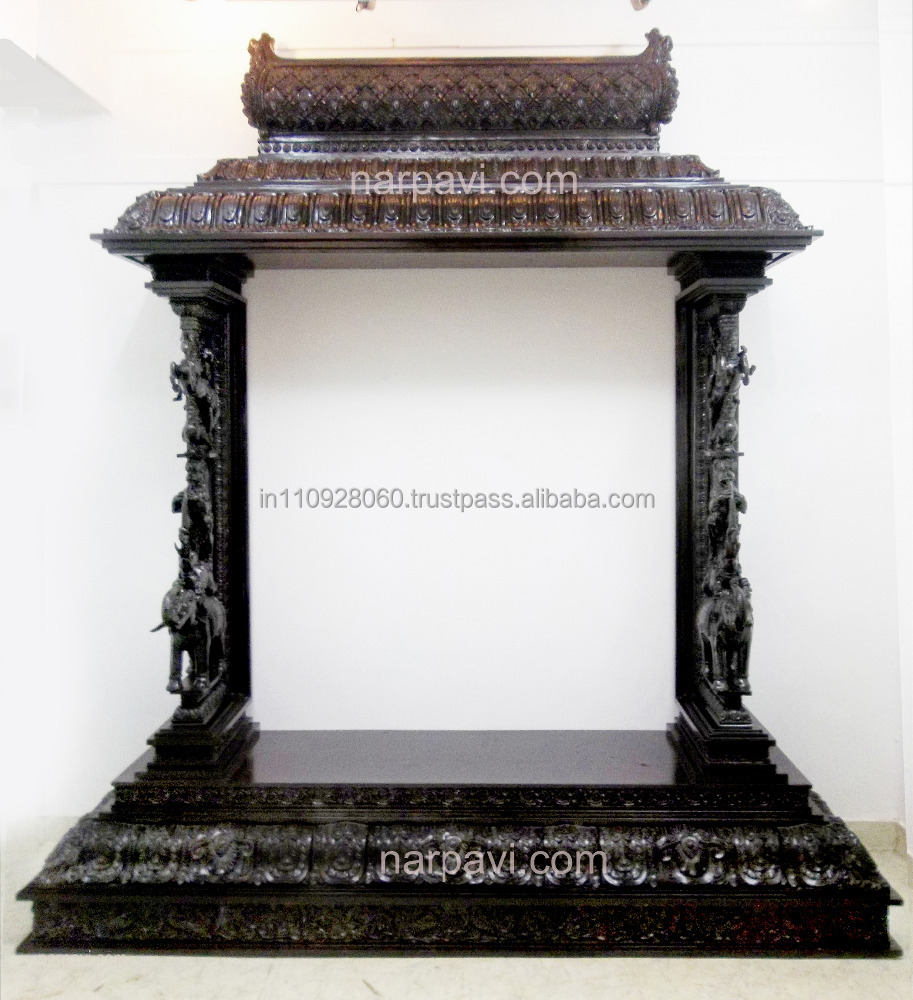 Wooden Mandir For Home, Wooden Mandir For Home Suppliers and ...