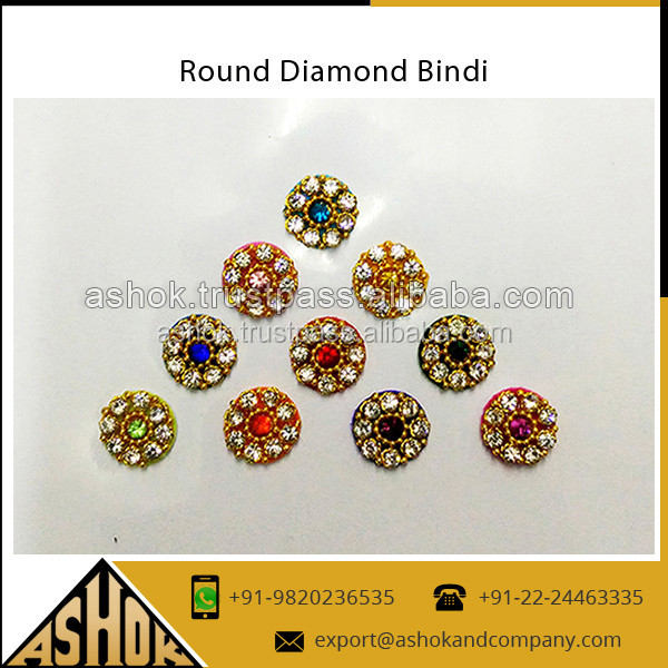 Fashion round bindi sticker crystal rhinestone fancy retailer round decorative bindi sticker buy colouredful round bindifashion custom tattoos sticker