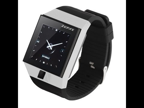 Smartwatch ZGPAX S5 review door Androidtech