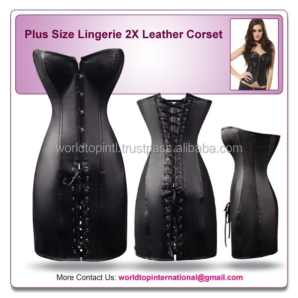 Zip Up Leather Corset Zip Up Leather Corset Suppliers And