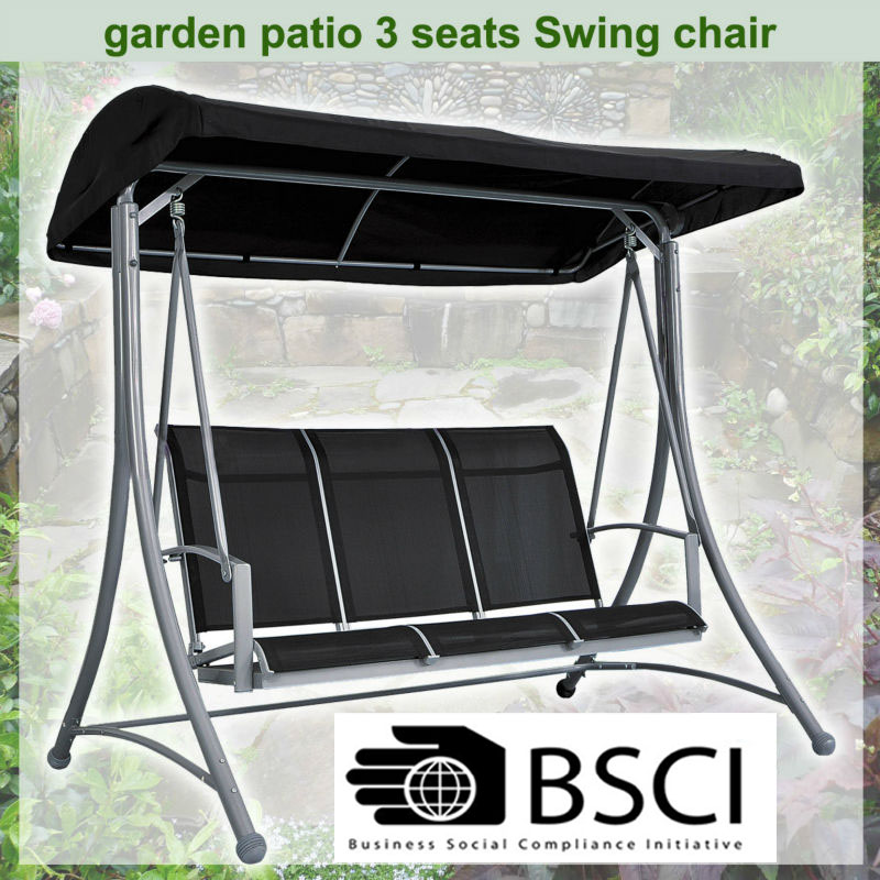 Cloud Wave Indoor / Outdoor Garden Patio Swing (3 seat)