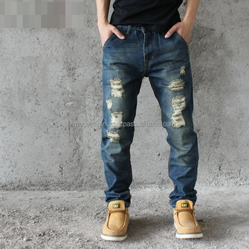 Distressed Denim Pant New Design 2017 High Quality