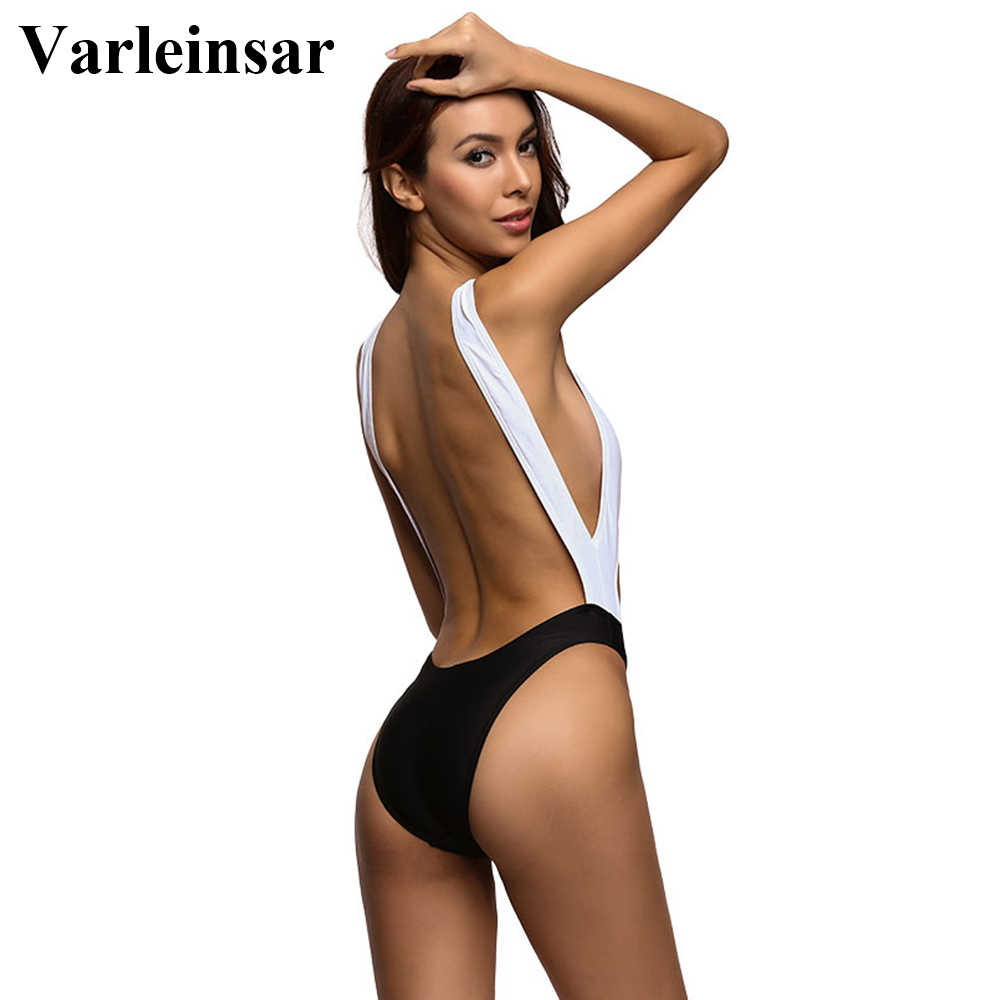 b7003b5f27066 2019 Varleinsar 2017 New Tummy Cut Out Sexy 1 One Piece Swimsuit ...