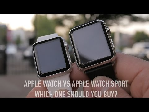 Apple Watch vs Apple Watch Sport Dual Unboxing: Which One Should You Buy?