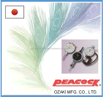 eeasy to use and high quality dial indicator peacock dial gauge for