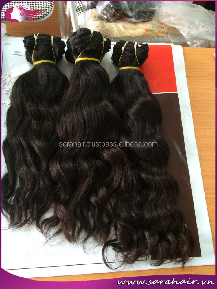 2015 Sarahair Hairstyle 100% Human Natural Curly Malaysian Body Wave Hair