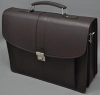 100% Genuine Cow Leather Mens Briefcase laptop bag