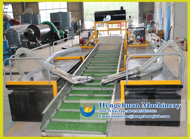 Small Gold Mining Dredges : Portable small gold mining dredge boat for sale buy
