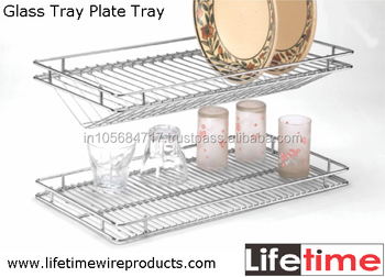 Modular Kitchen Stainless Steel Wire Gl Tray Plate