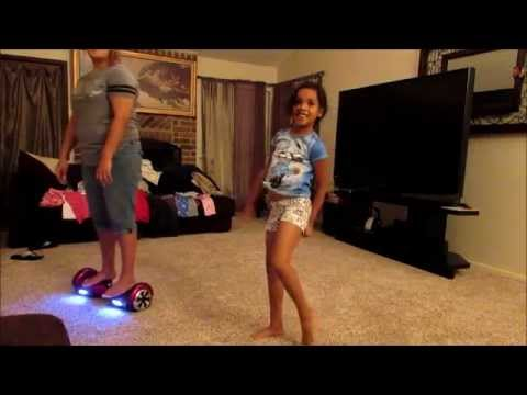 SMART BALANCING ELECTRIC SEGWAY SCOOTER WIFE AND DAUGHTER  FIRST RIDE