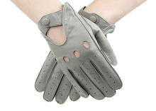 Hot fashion sheep skin driving gloves