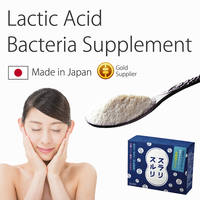 Easy to consume best food supplement lactic acid powder supporting the daily diet