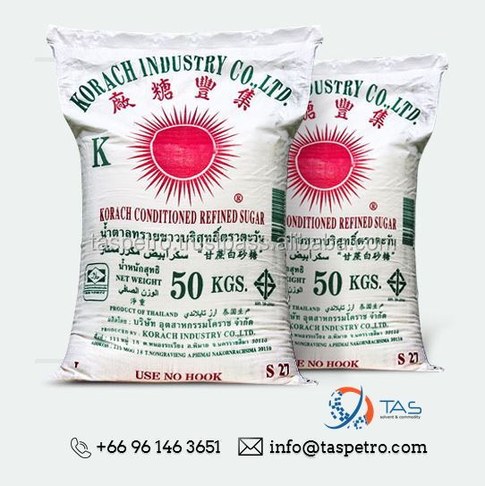 [Order Reservation] Refined White Sugar/ Cane Sugar KI Group Product Supplier in Thailand