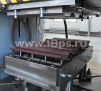 Composite roof tile press mold