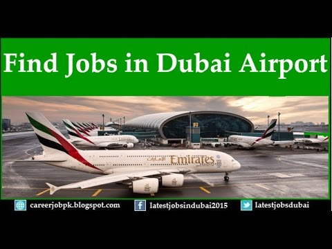 How to find jobs in Dubai Airport