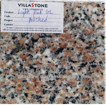 Vietnam Light Pink Gl Granite Polished Stone For Walls
