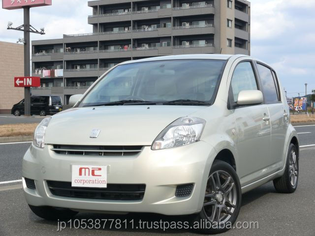 Popular used toyota 1300cc cars japan PASSO G 2007 with Good Condition