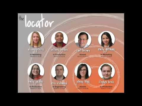 The Locator App: Employee Locator with RFID