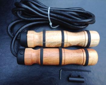 springtouw houten handvat