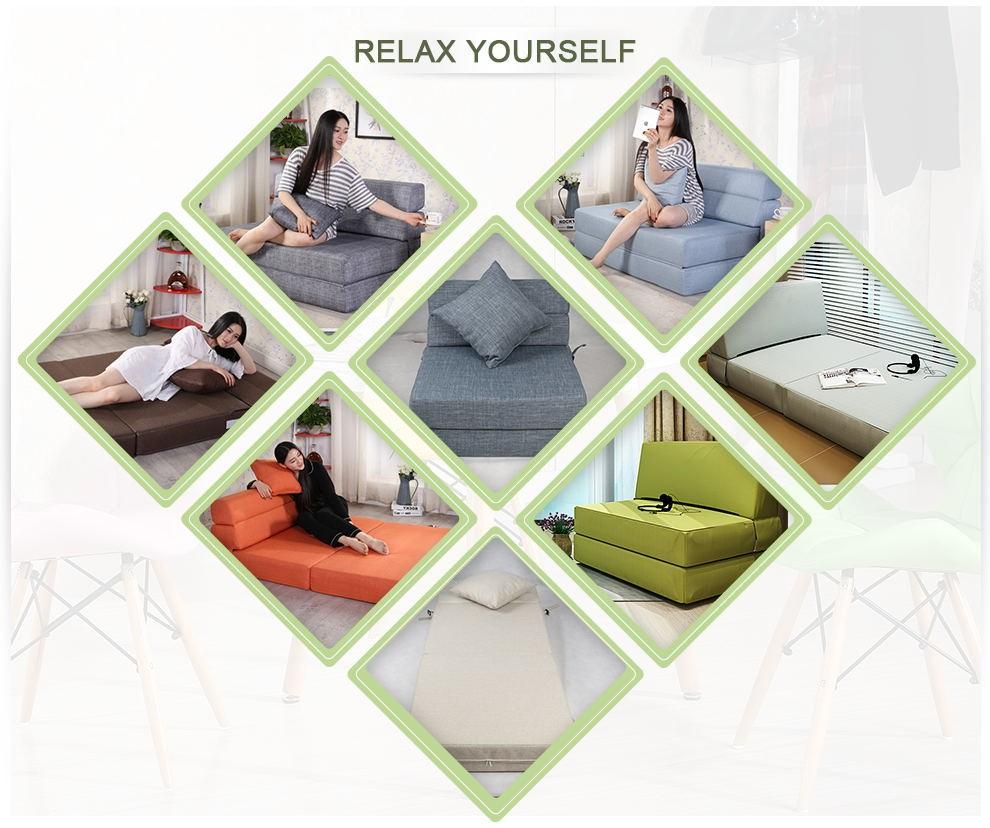 Pas cher multifonctions confort paresseux canap lit for Causeuse pas cher