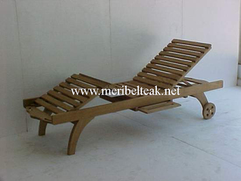 Indonesia Furniture-BALI BEACH LOUNGER-Teak Furniture