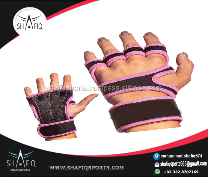 Weight Lifting Gym Straps Grips Wrist Palm Support Wraps Training Gloves