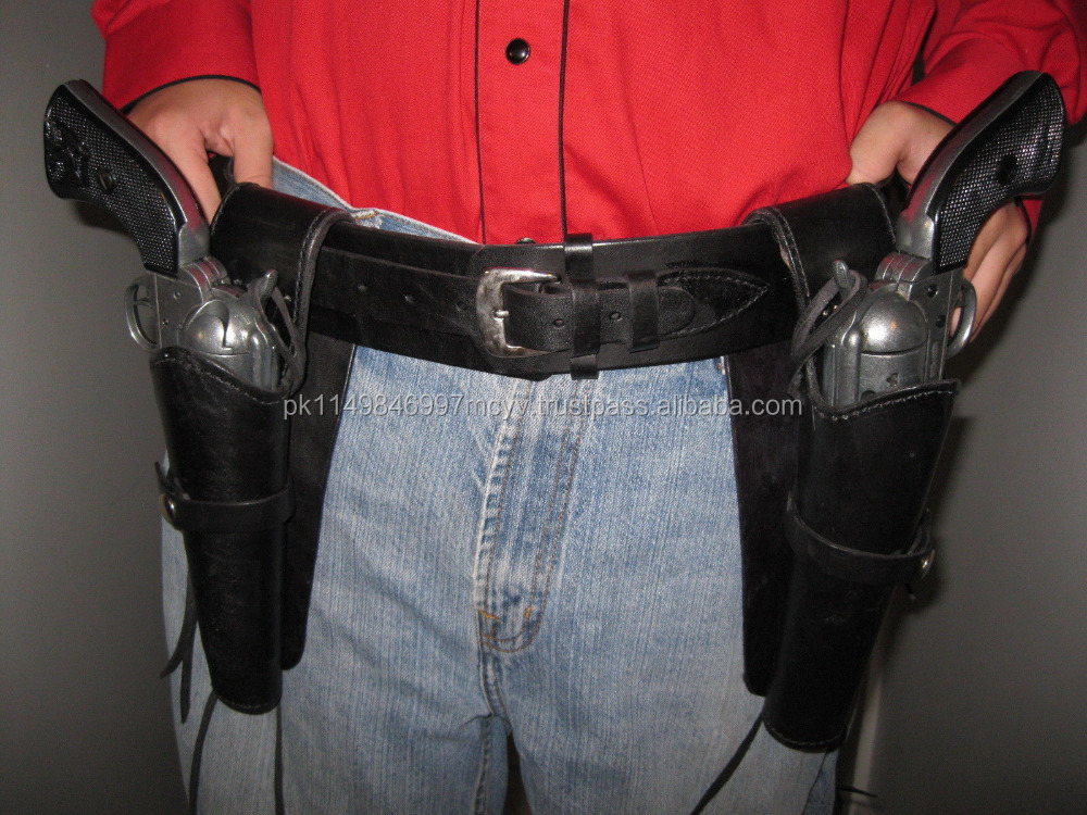 belly band gun holster for left and Right in Black