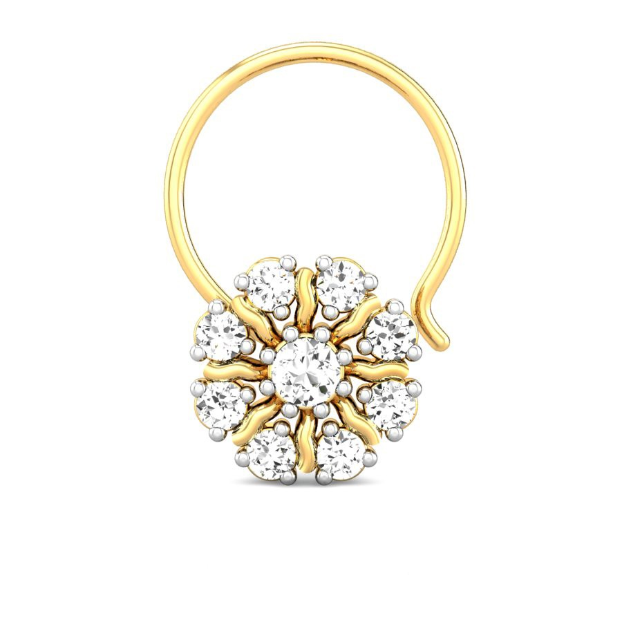 ring gold designer tone mainro cocktail diamond rings two