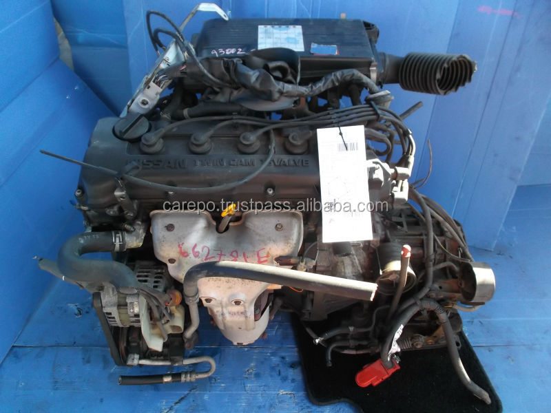 SECONDHAND AUTO ENGINE GA15DE (HIGH QUALITY AND GOOD CONDITION) FOR NISSAN AD WAGON, WINGROAD