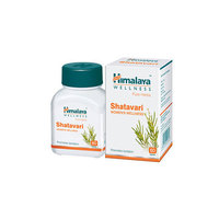 Himalaya Pure Herbs - Shatavari - Womens Wellness - Promotes Lactation - 60 Tablets/Bottle