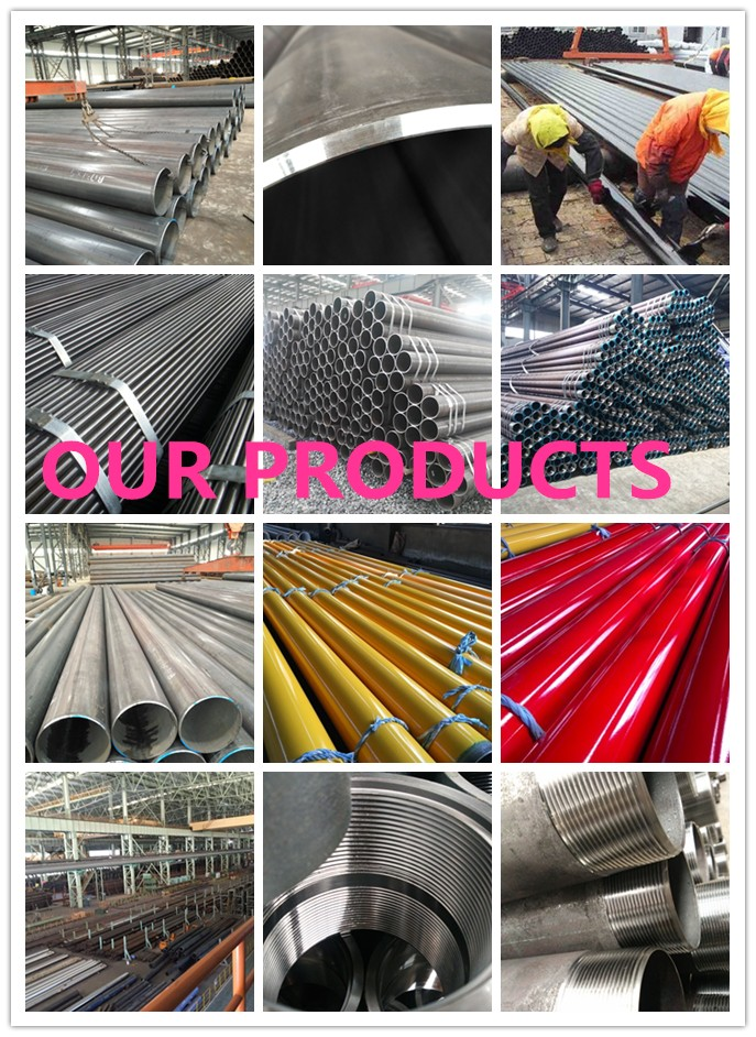 "120"" carbon steel API5L ASTM A106 Gr.B A53 SSAW pipe"