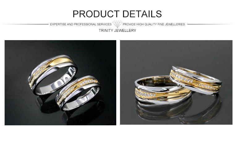 lastest design wedding bands jewelry saudi arabia gold real diamond wedding rings couple ring - Gay Mens Wedding Rings