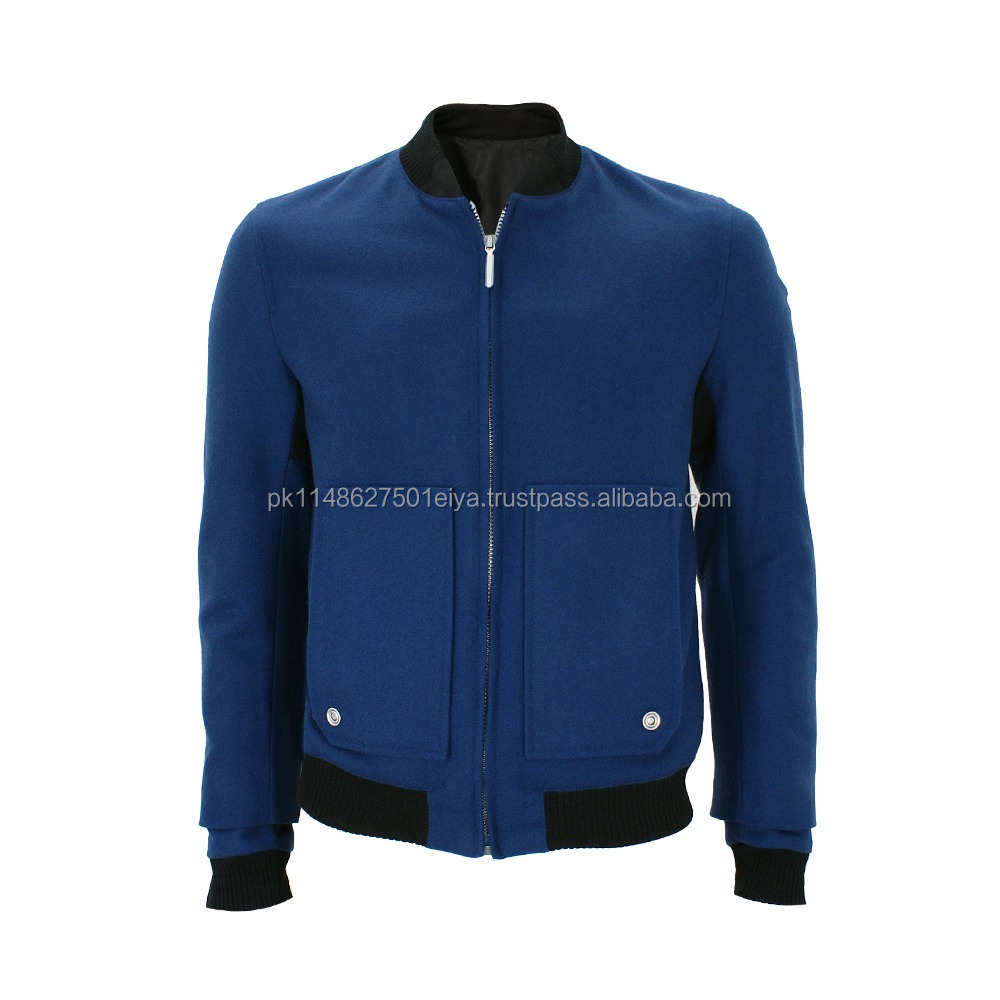 High Quality Varsity Jacket, Custom High Quality Varsity Jacket Leather Sleeve, Nylon Wool Body Leather Sleeves Varsity Jacket